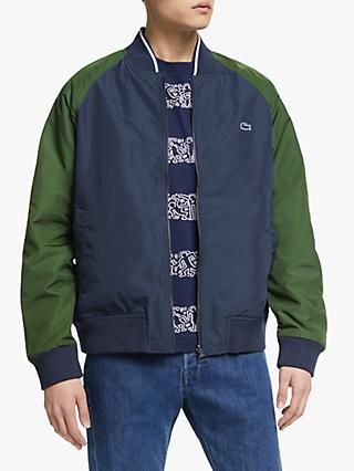 cf120db12a90 Lacoste Reversible Bomber Jacket