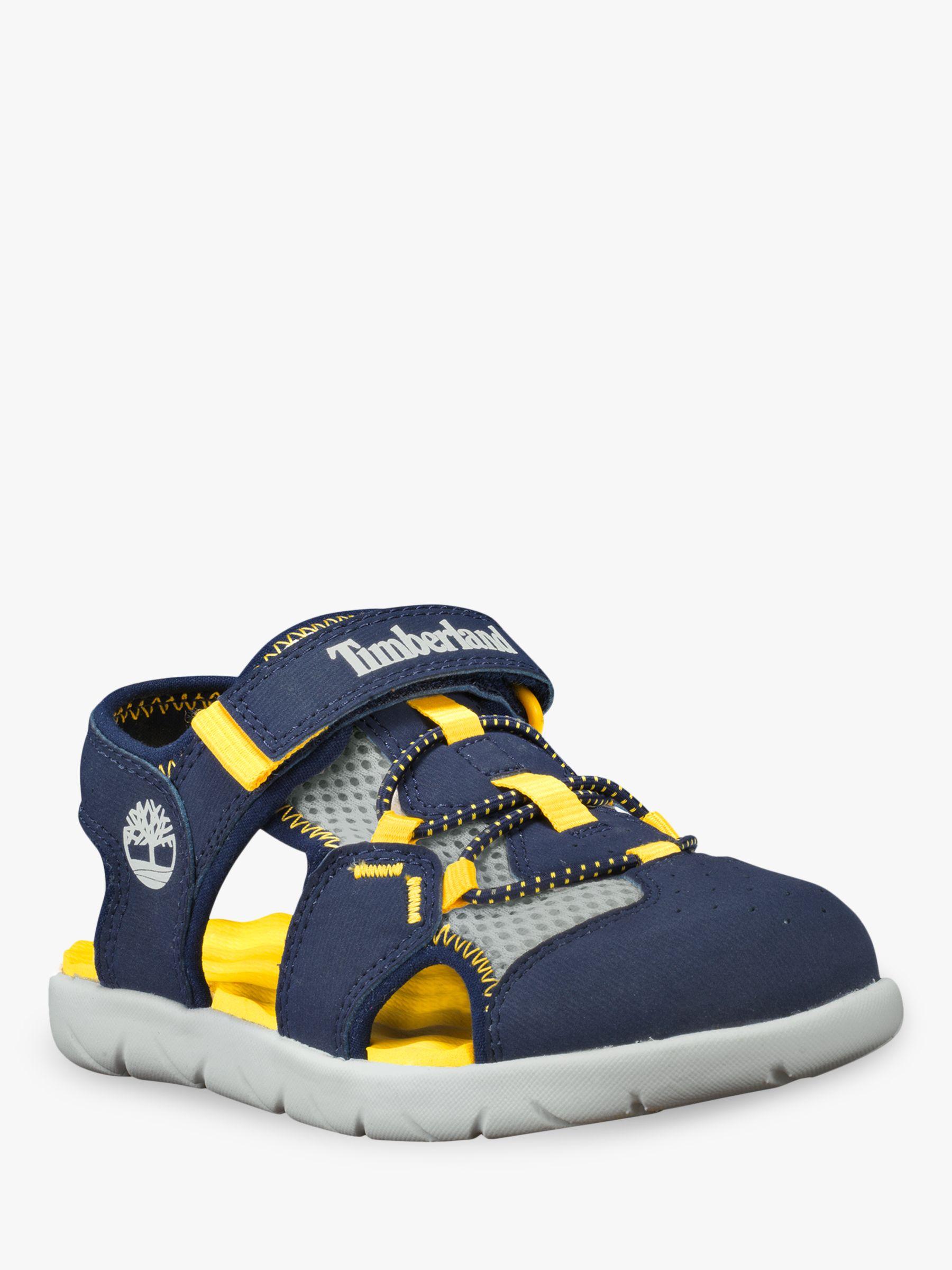 moda de lujo bonito diseño comprar mejor Timberland Children's Perkins Row Fisherman Sandals, Navy/Yellow ...