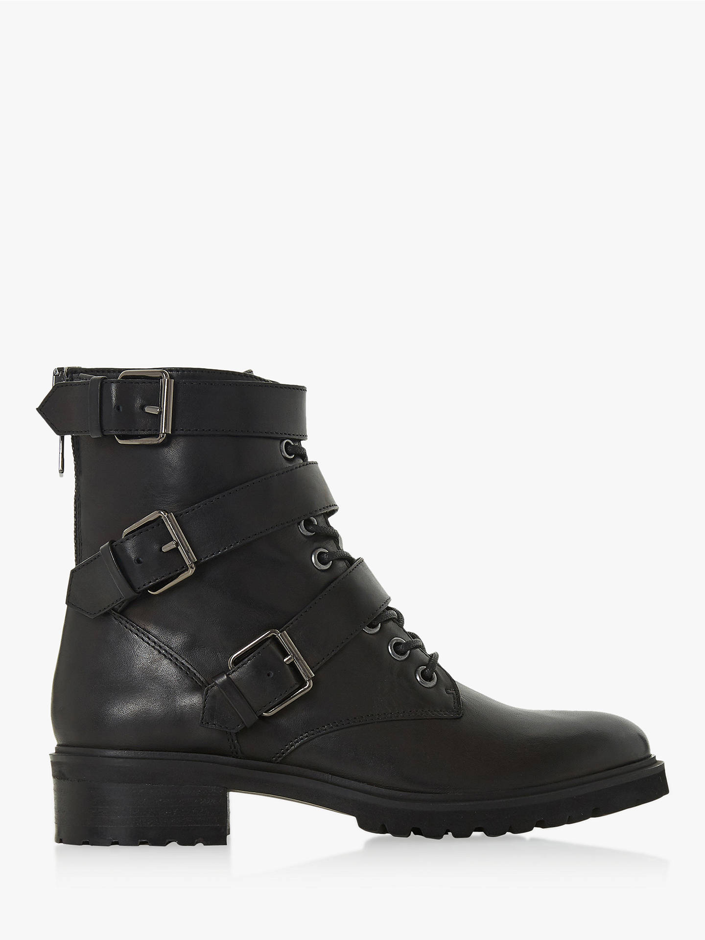 eb0188fb44f Buy Steve Madden Crost Buckle Lace Ankle Boots