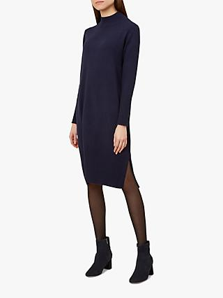 Hobbs Nima Dress, Navy