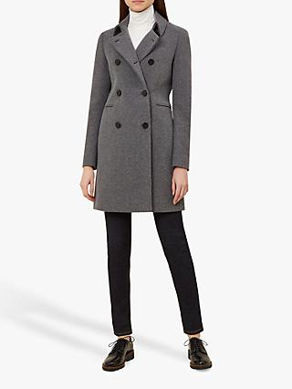 Hobbs Kester Coat, Charcoal Grey