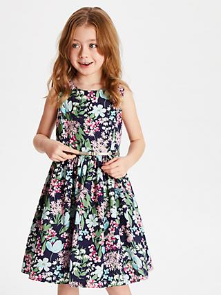 fda9bf1c096 John Lewis   Partners Girls  Meadow Floral Dress
