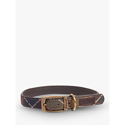 Image of Barbour Tartan Dog Collar