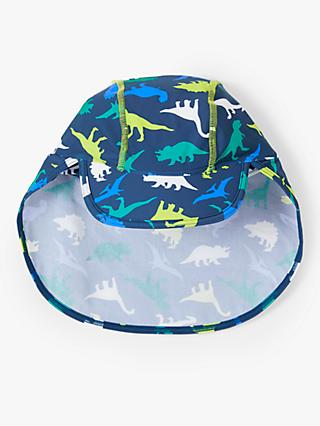 John Lewis & Partners Children's Dinosaur Keppi Hat, Blue
