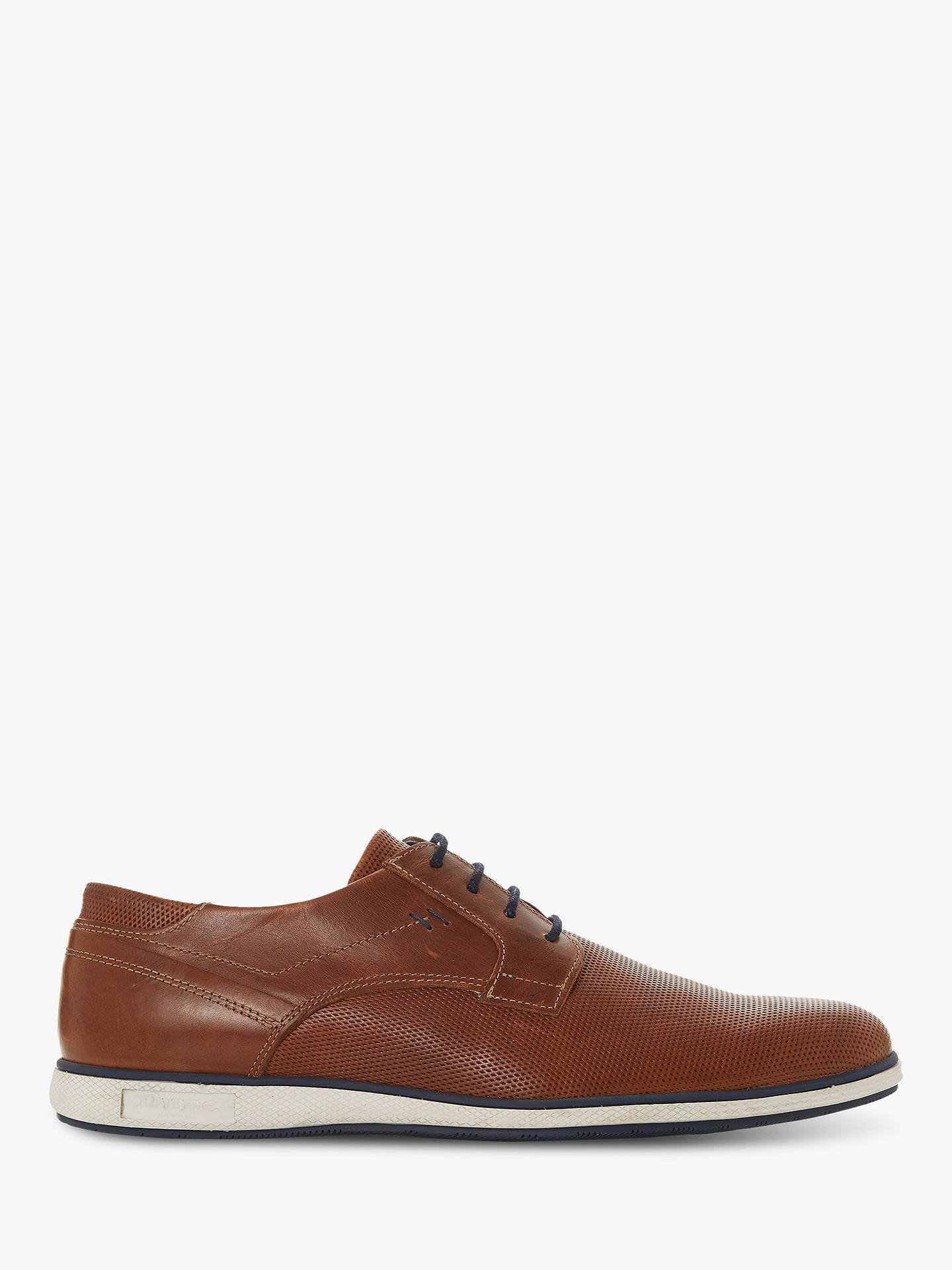 abf2f087c49 Dune Bamfield Leather Derby Shoes, Tan
