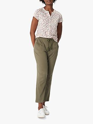 White Stuff Clea Trousers, Khaki