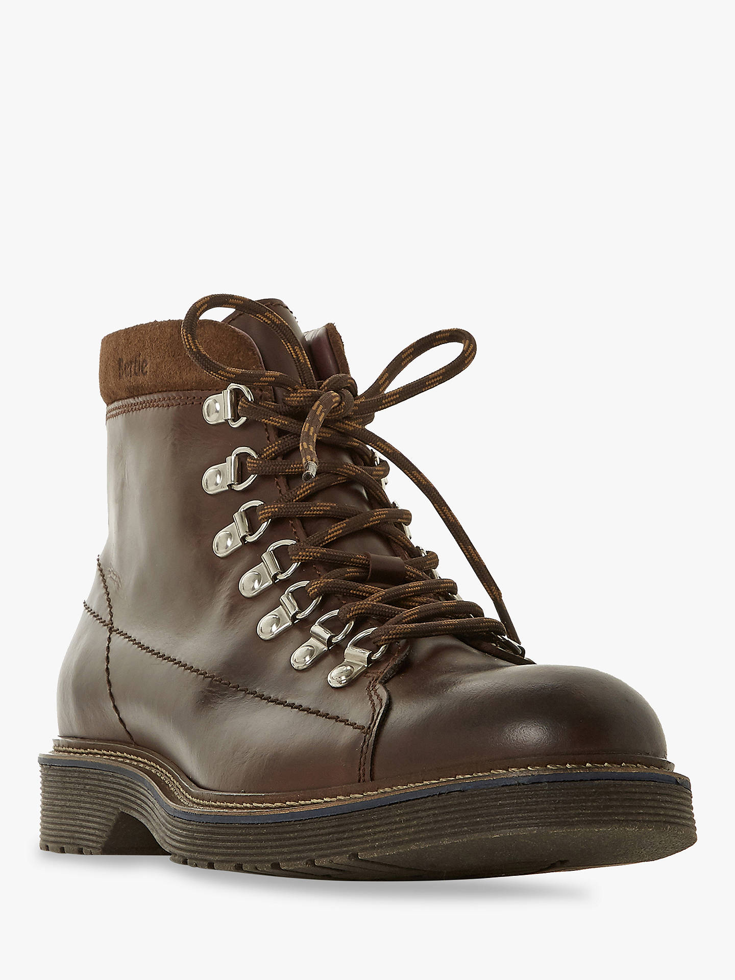 BuyBertie City Explorer Leather Boot, Brown, 6 Online at johnlewis.com