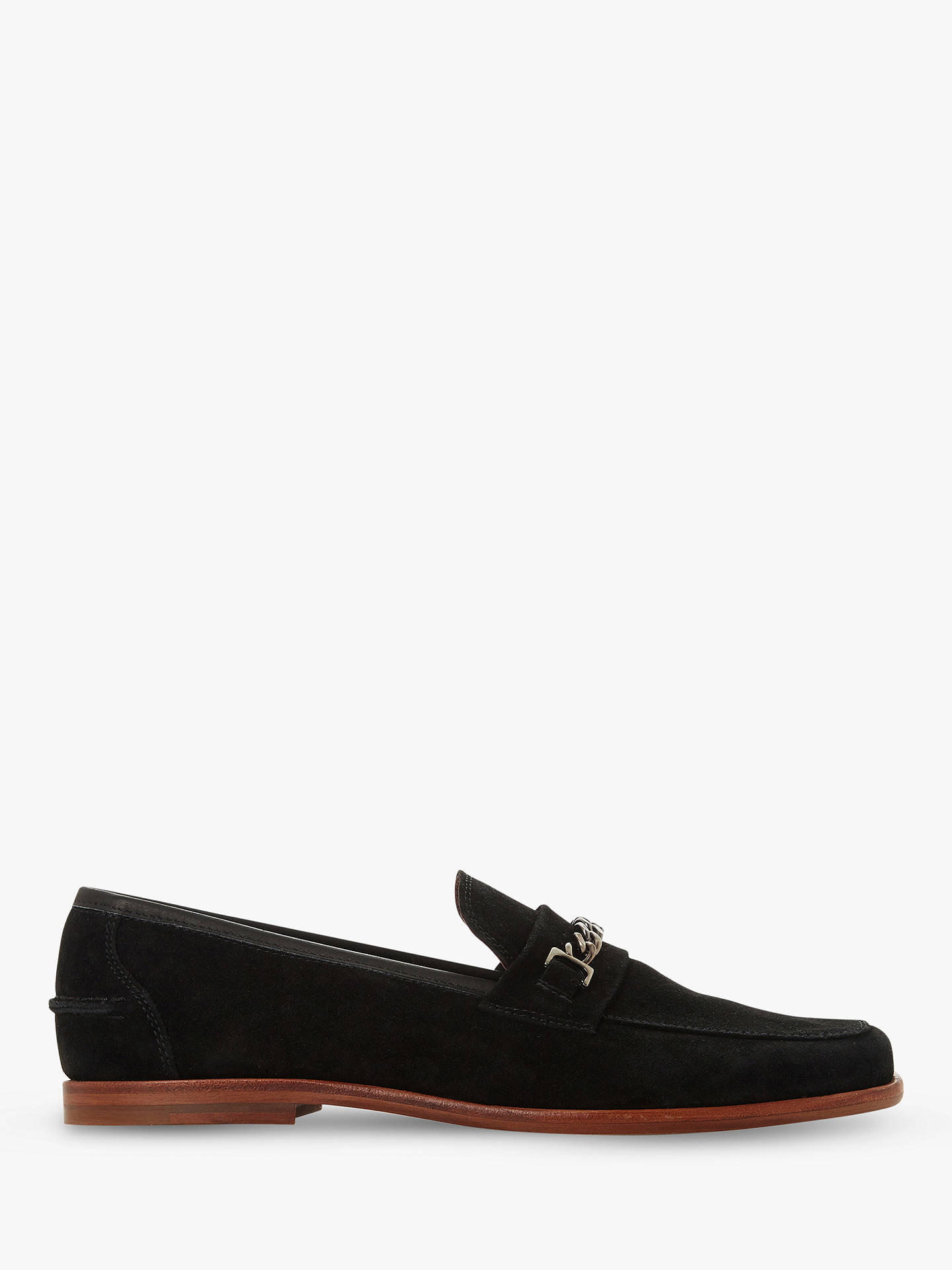 5b78313d376 Bertie Surbiton Suede Square Toe Loafer at John Lewis   Partners
