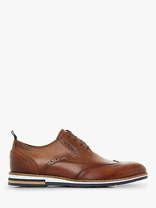 Bertie Blackheath Contrast Sole Brogues, Tan