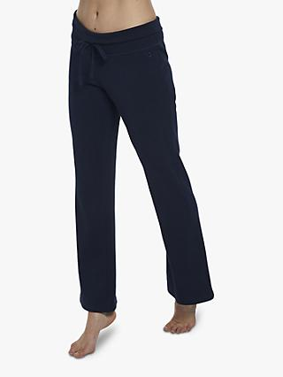 M Life Relaxed Bootleg Yoga Pants, Dark Blue