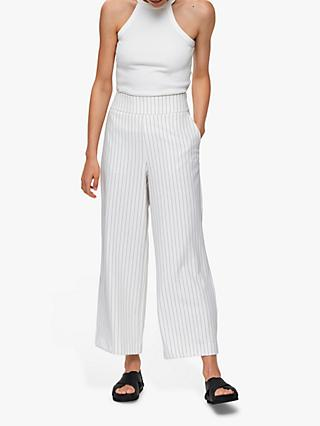 Selected Femme Milli Polly Wide Leg Cropped Trousers