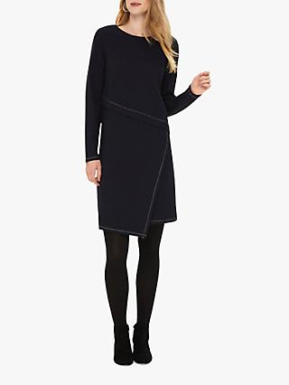 Phase Eight Pascale Tunic Dress, Navy