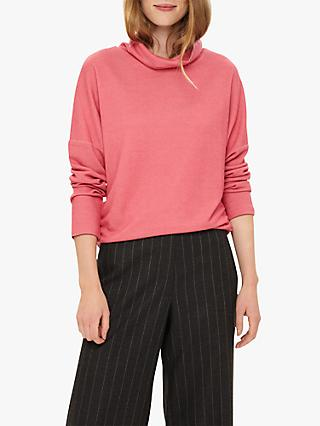 Phase Eight Liora Cow Neck Top, Pink