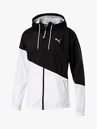PUMA ACE Windbreaker Jacket, Black/White