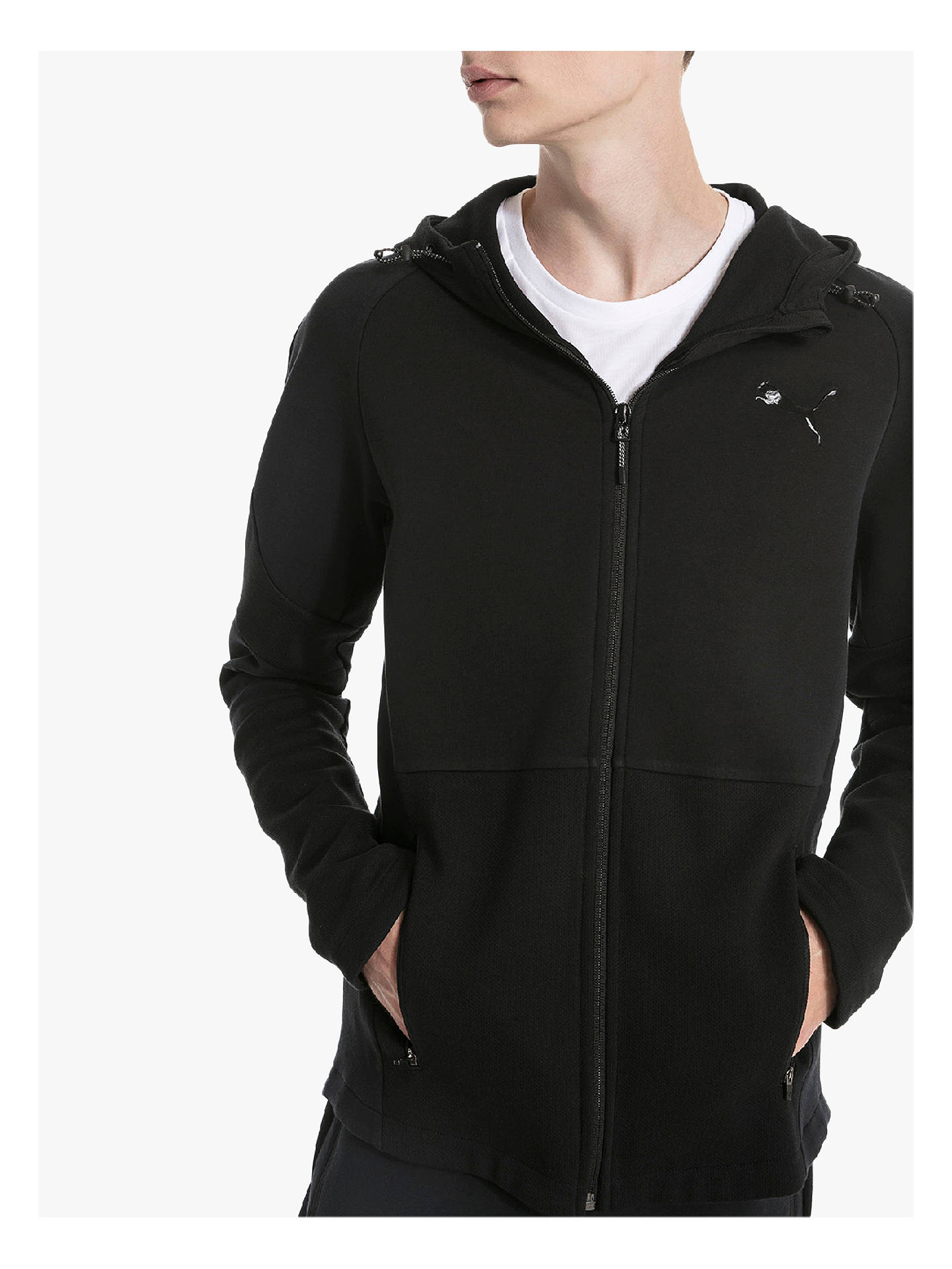 16c710037e30 PUMA Evostripe Hooded Jacket at John Lewis   Partners