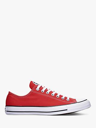 Converse Chuck Taylor All Star Ox Trainers, Red