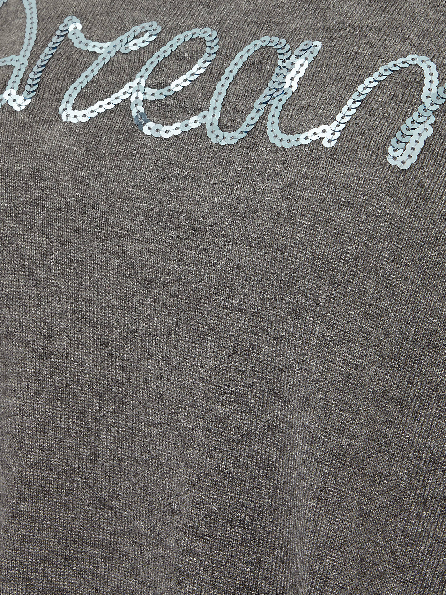 BuyPhase Eight Daisy Sparkle Jumper, Grey Marl, 8 Online at johnlewis.com