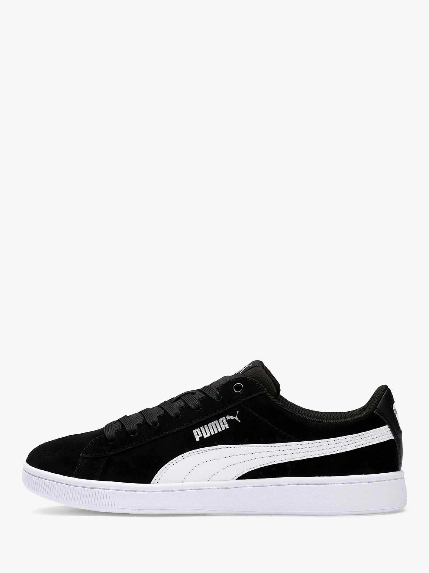 PUMA Vikky V2 Court Women's Trainers, Black at John Lewis