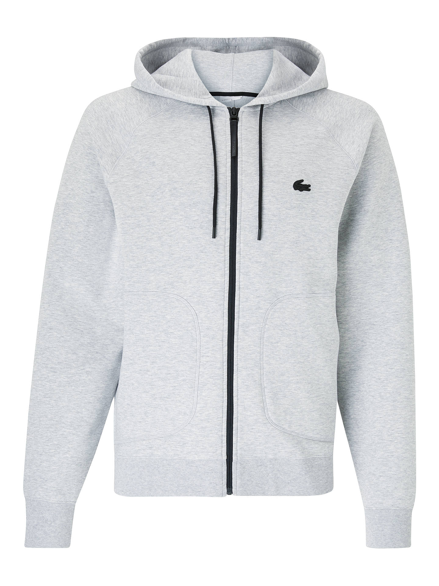 hot sale new authentic arriving Lacoste in Motion Tracksuit Hoodie, Grey at John Lewis ...