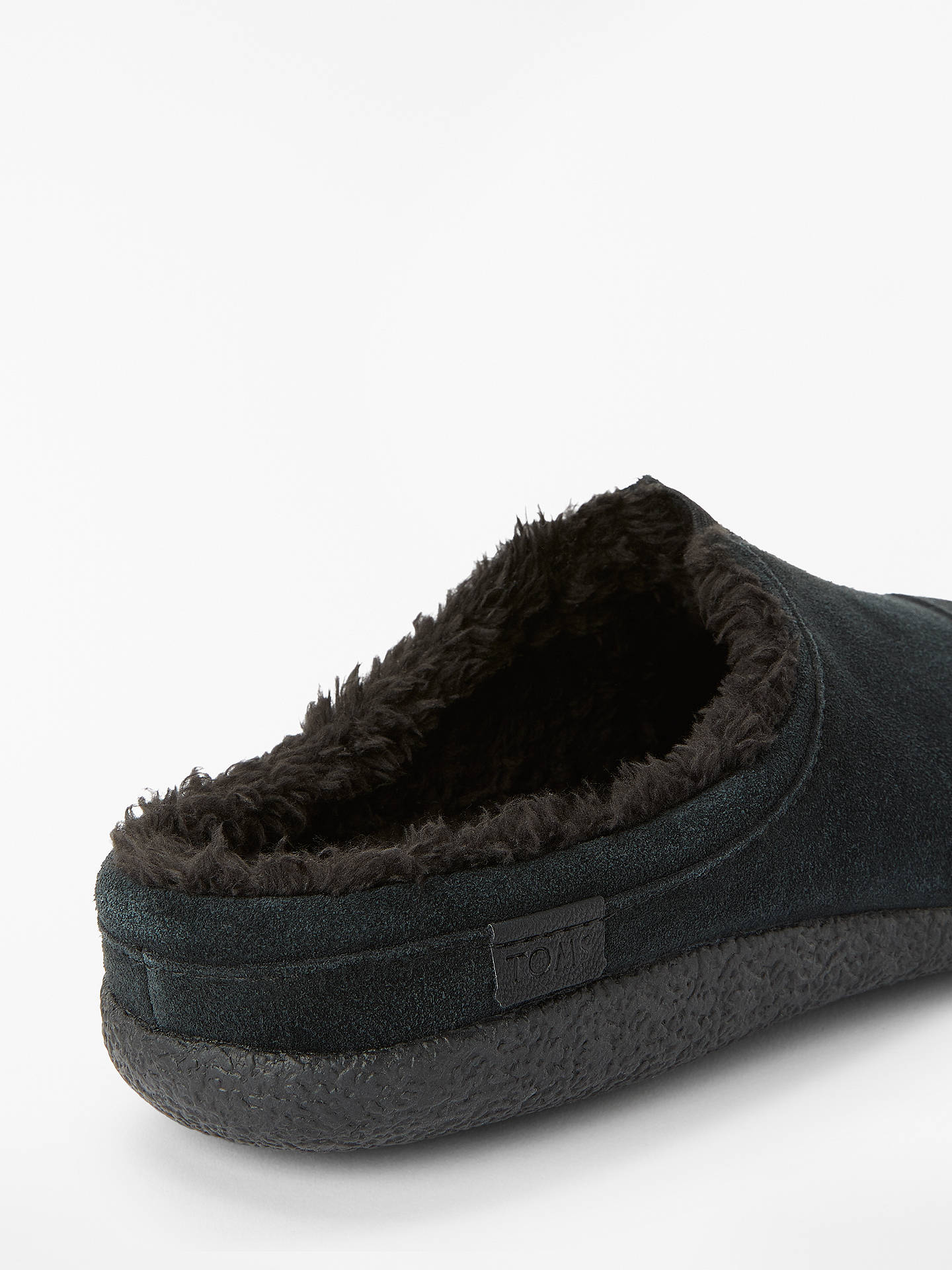 f2f89927dc0 TOMS Berkeley Suede Slippers at John Lewis   Partners