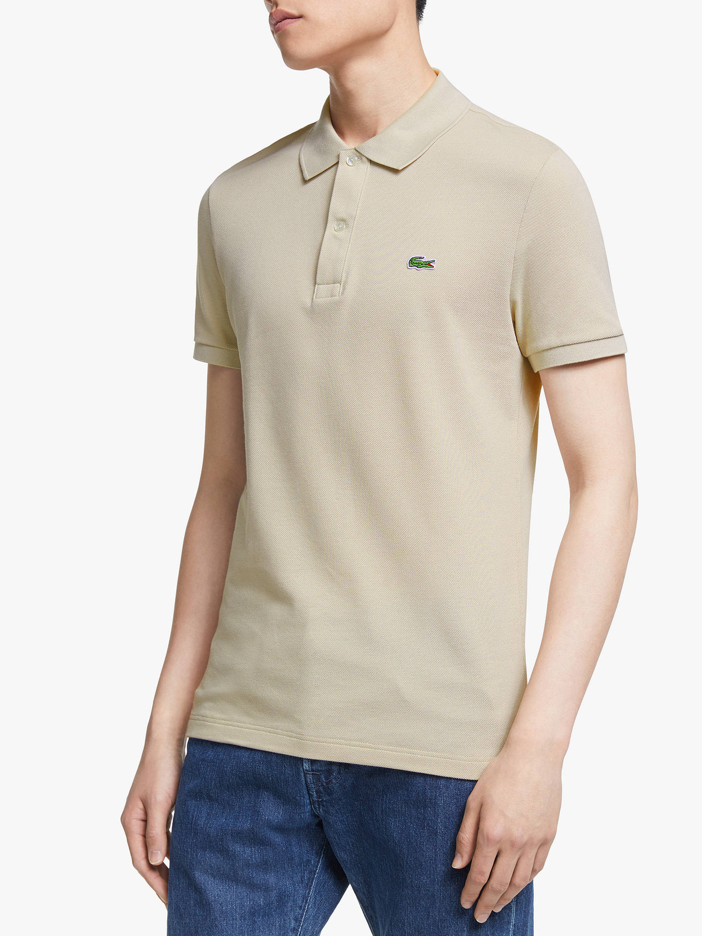 5c249e575e Lacoste Classic Slim Fit Short Sleeve Polo Shirt at John Lewis ...