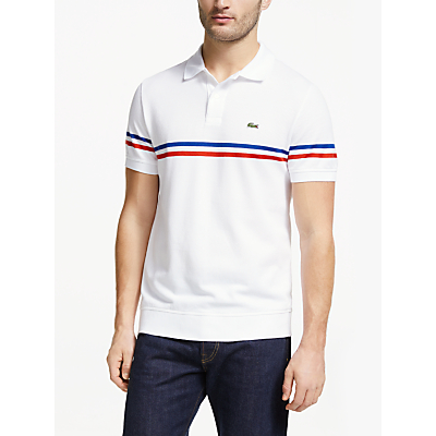 Lacoste Made in France Short Sleeve Polo Shirt, White
