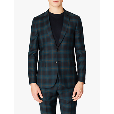 Paul Smith Check Blazer, Black