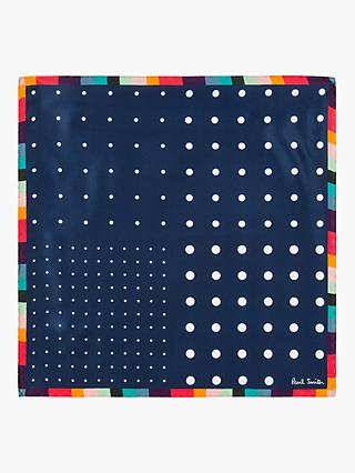 Paul Smith Multi Artist Clash Pocket Square, Multi