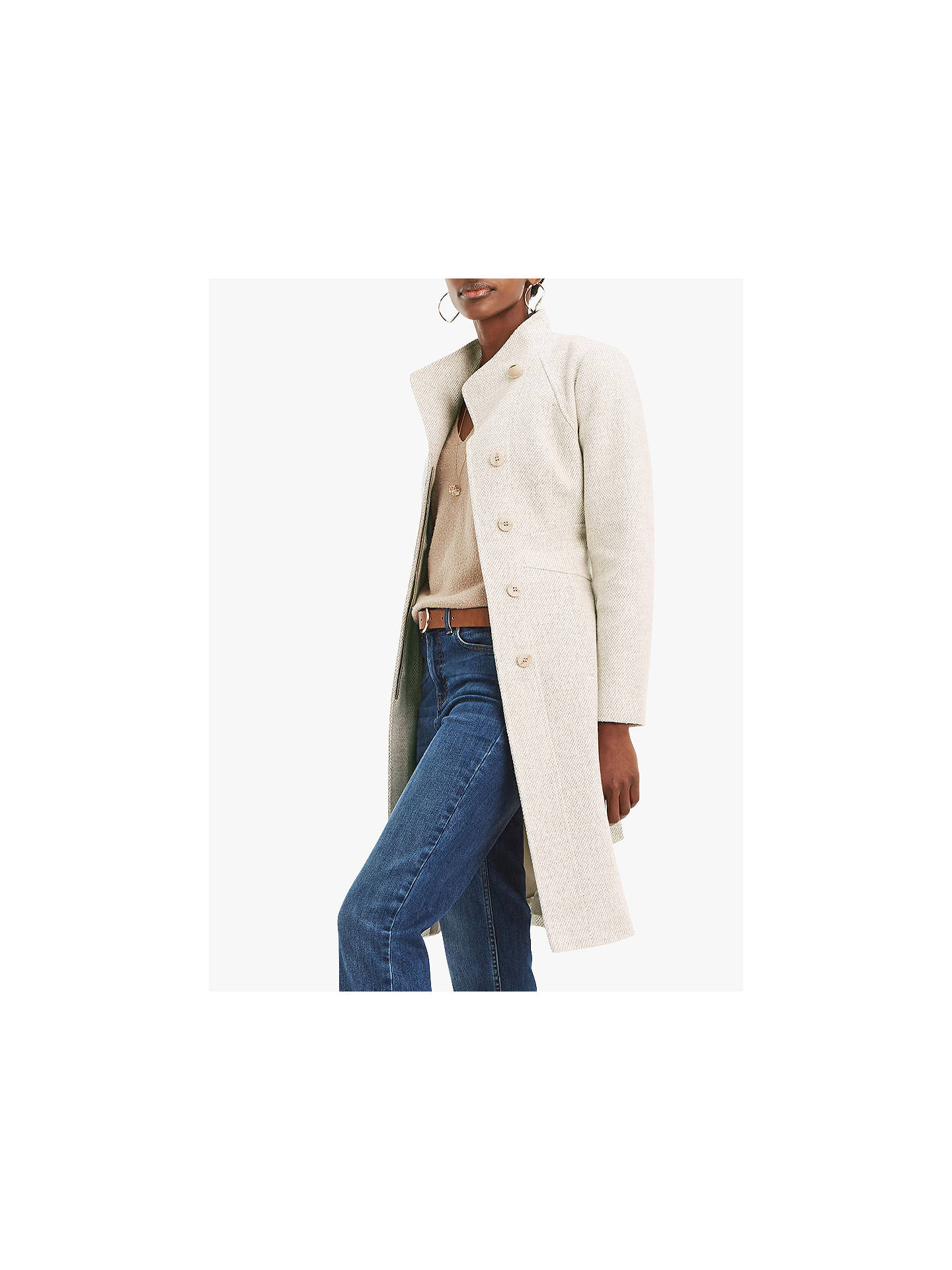 e26a2859f7a8 Buy Oasis Panel Coat, Multi, S Online at johnlewis.com ...