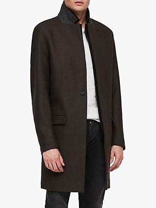 AllSaints Jarvus Tailored Coat, Khaki Green