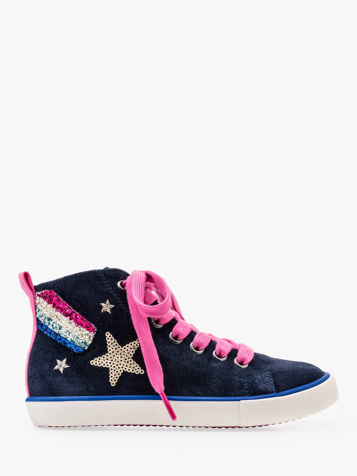 Mini Boden Children S High Top Shooting Star Trainers