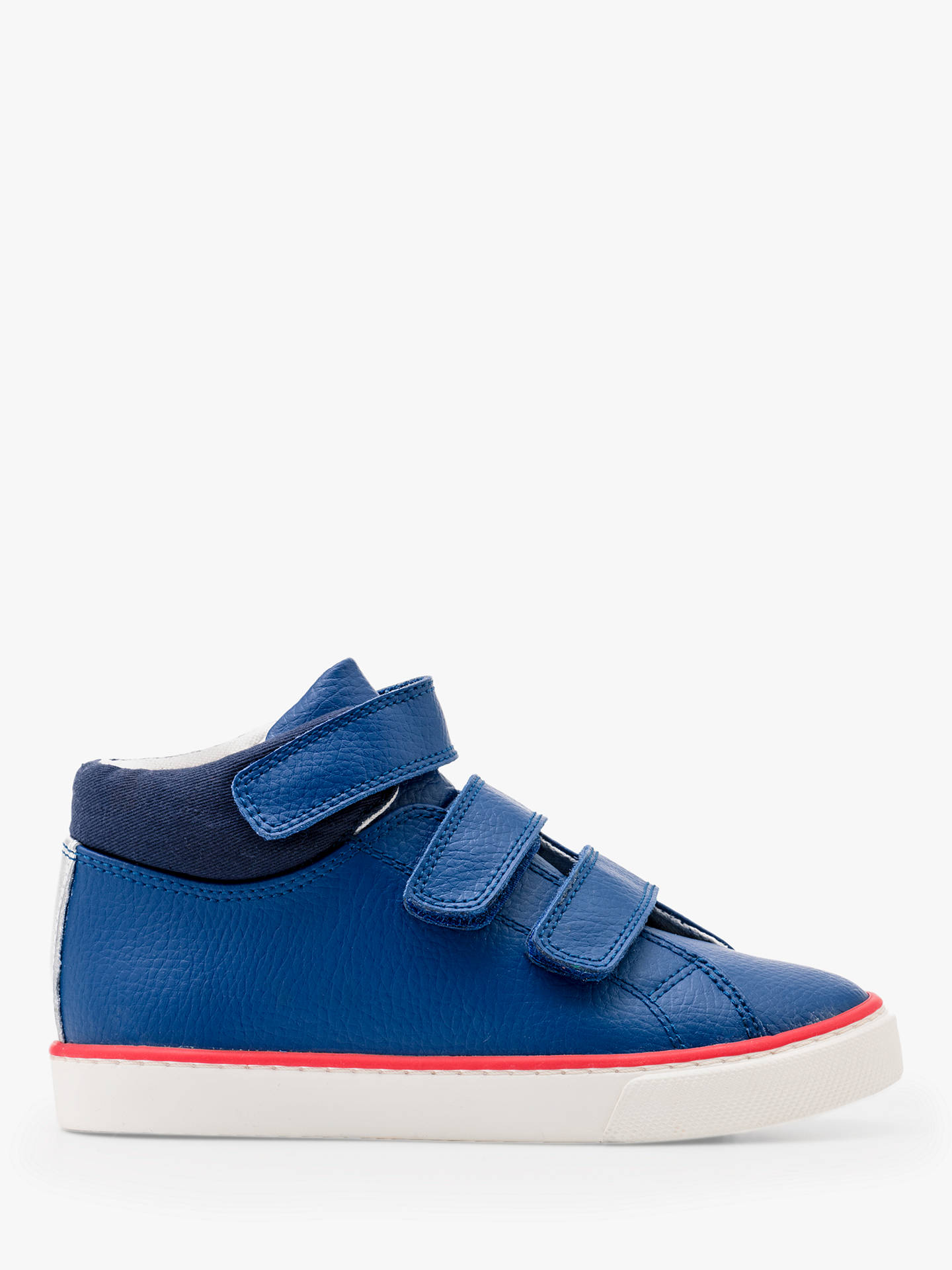 Mini Boden Children S Leather High Top Trainers Orion