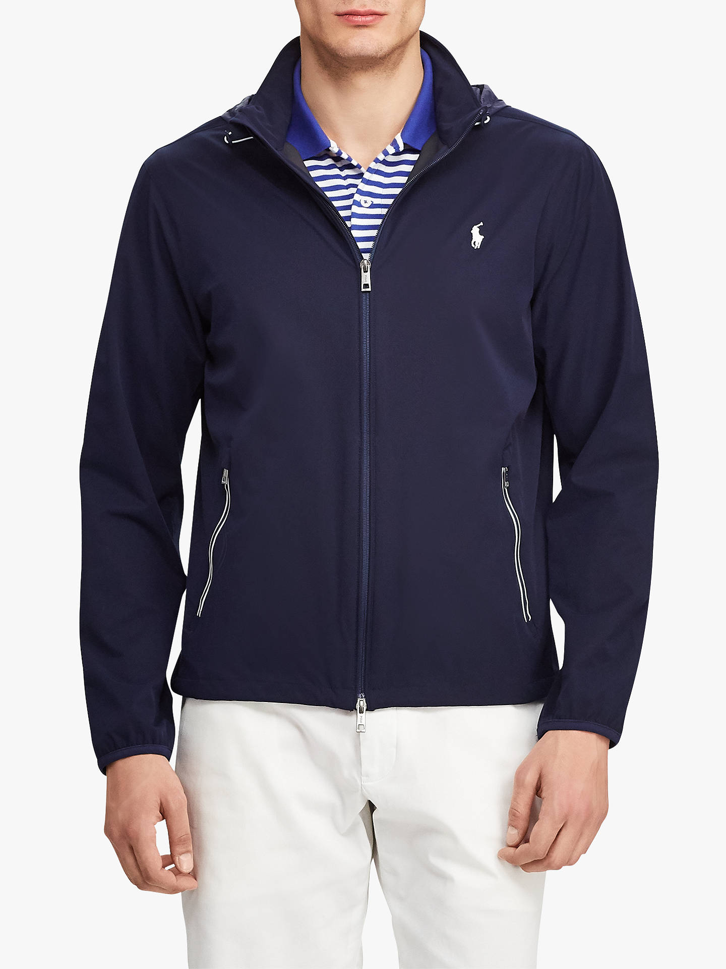 32fff5ec Buy Polo Golf by Ralph Lauren Packable Anorak Jacket, French Navy, M Online  at ...