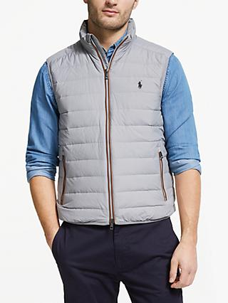 Polo Golf by Ralph Lauren Pack Down Fill Gilet, Battalion Heather
