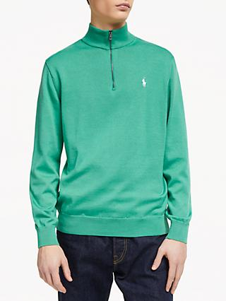 Polo Golf by Ralph Lauren Slim Fit Half Zip Sweatshirt, Raft Green