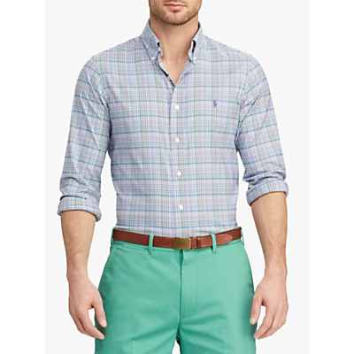 Polo Golf by Ralph Lauren Performance Twill Golf Shirt