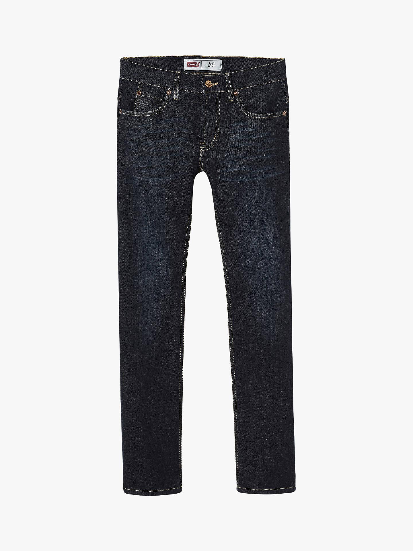 9b8da2076 Buy Levi's Boys' 511 Slim Fit Jeans, Dark Wash, 6 years Online at ...