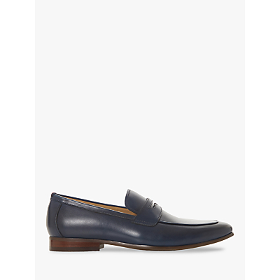 Dune Sherbrooke Leather Penny Loafers