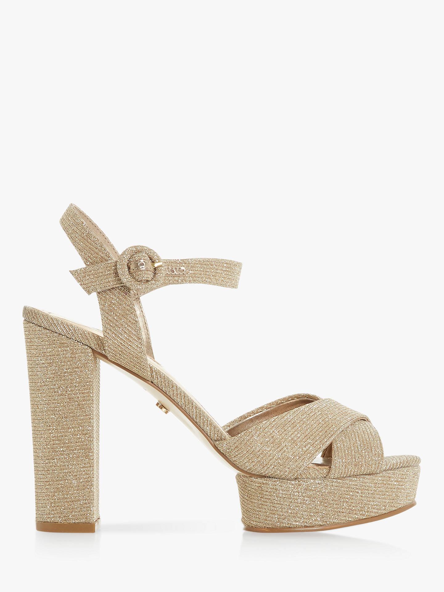 ce733c47c44b Buy Dune Mallin Platform Heeled Sandals