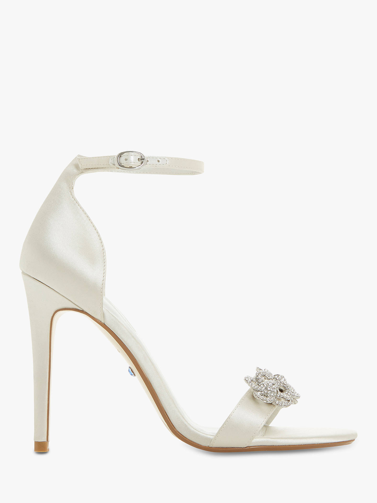 4d1ac1796a8 Dune Marry Me Bridal Collection Embellished Stiletto Heel Sandals ...