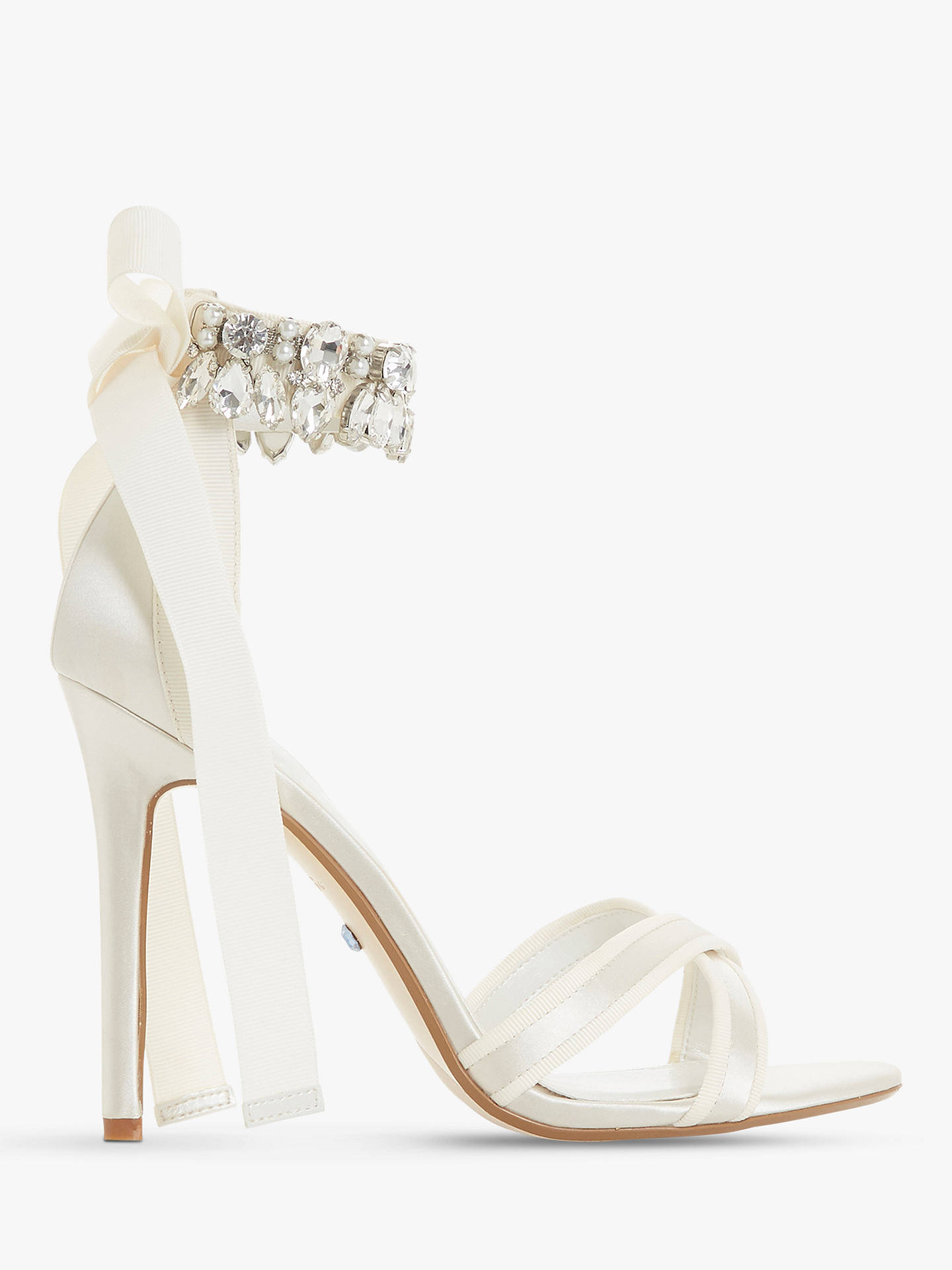 4980c9f21d52b0 Buy Dune Bridal Collection Mrs Crystal Ankle Tie Stiletto Sandals