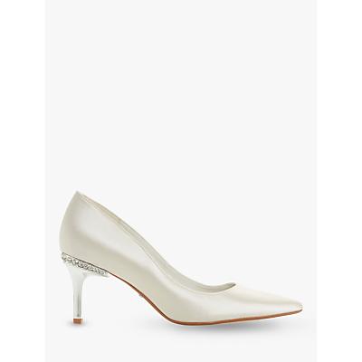 e99c46b97e0 Dune Bells Jewel Heel Pointed Toe Court Shoes