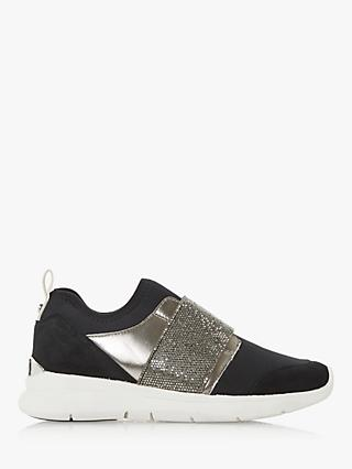 Dune Excitable Slip On Trainers