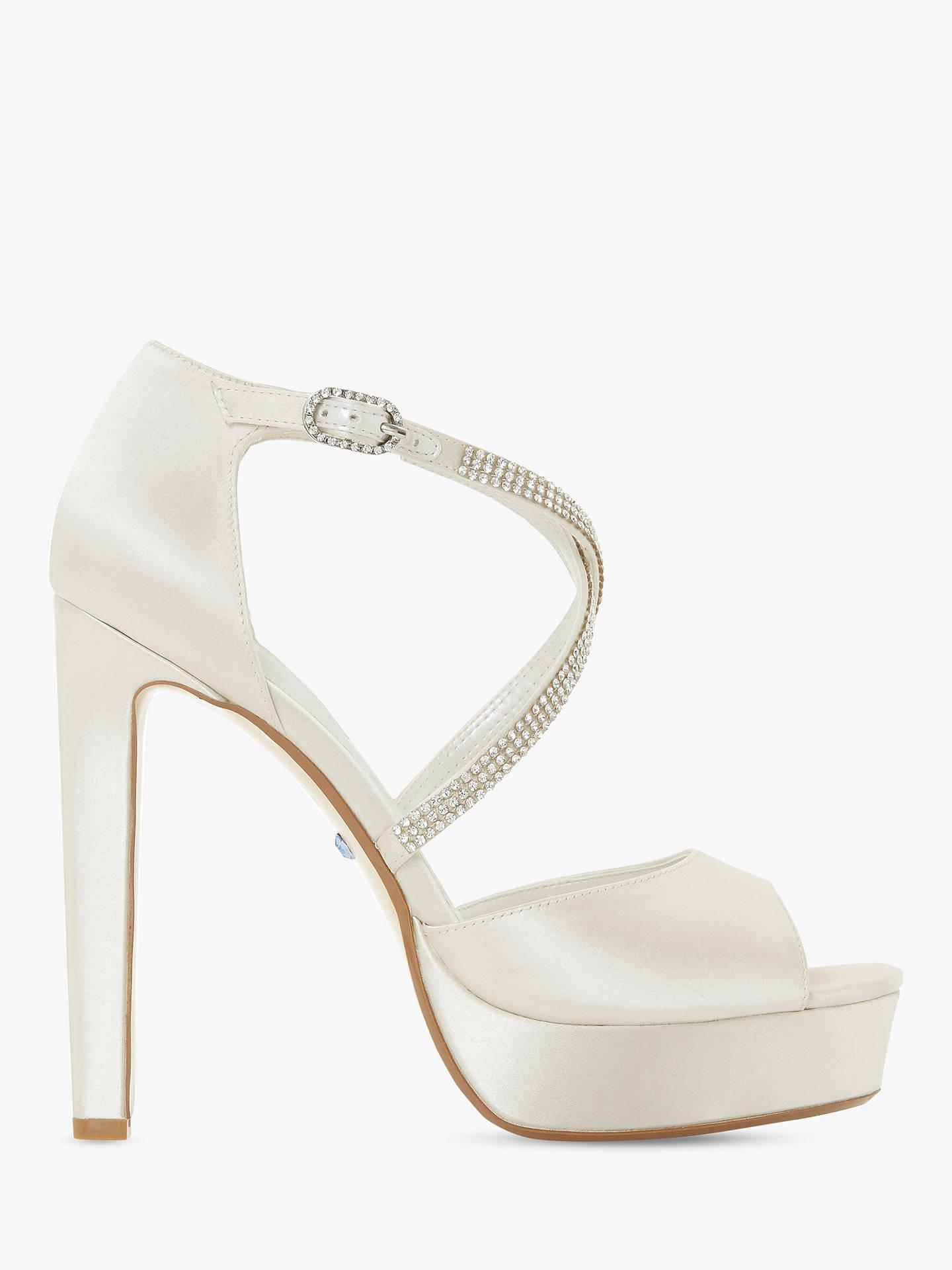 8e826f75360 Buy Dune Makeup Bridal Collection High Heel Platform Sandals