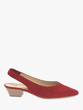 65b83d63cb11 Gabor Heathcliffe Block Heel Slingback Court Shoes