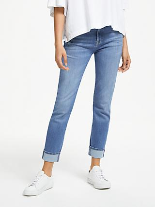7 For All Mankind Relaxed Skinny Boyfriend Jeans, Figueroa