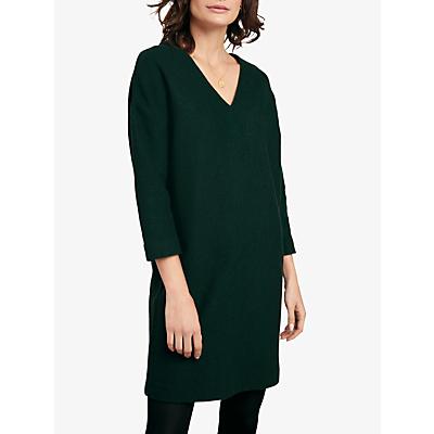 hush Curtis Wool Dress, Green