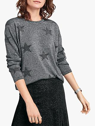 hush Nova Jumper, Black/Silver