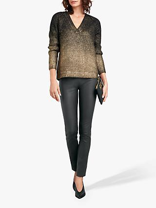 hush Aura Jumper, Black/Gold