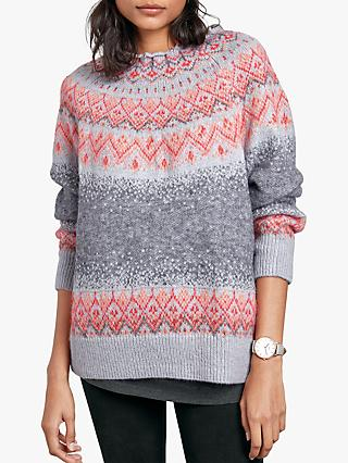 hush Twiggy Jumper, Grey Multi